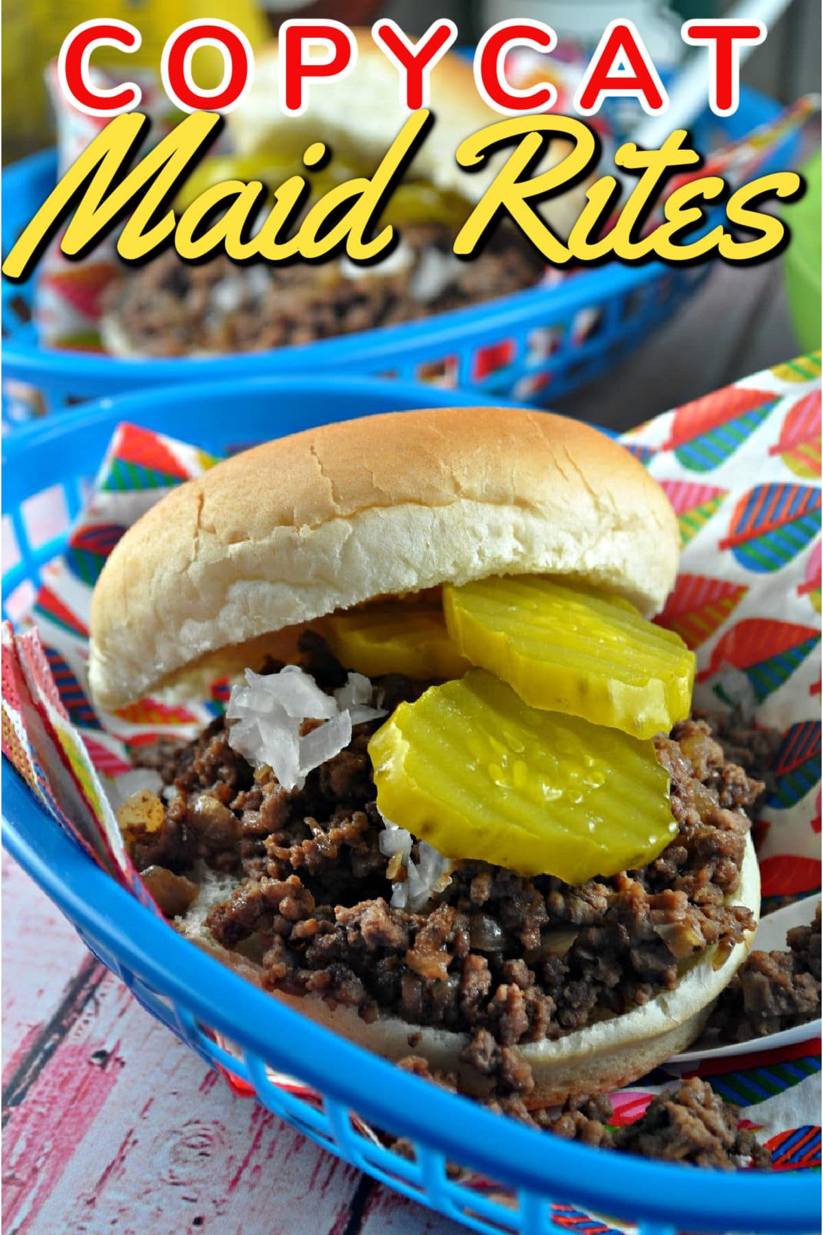 The Maid Rite is a loose meat sandwich - and this Iowa Maid Rite Copycat Recipe will teach you the secrets of my favorite hometown food! via @foodhussy