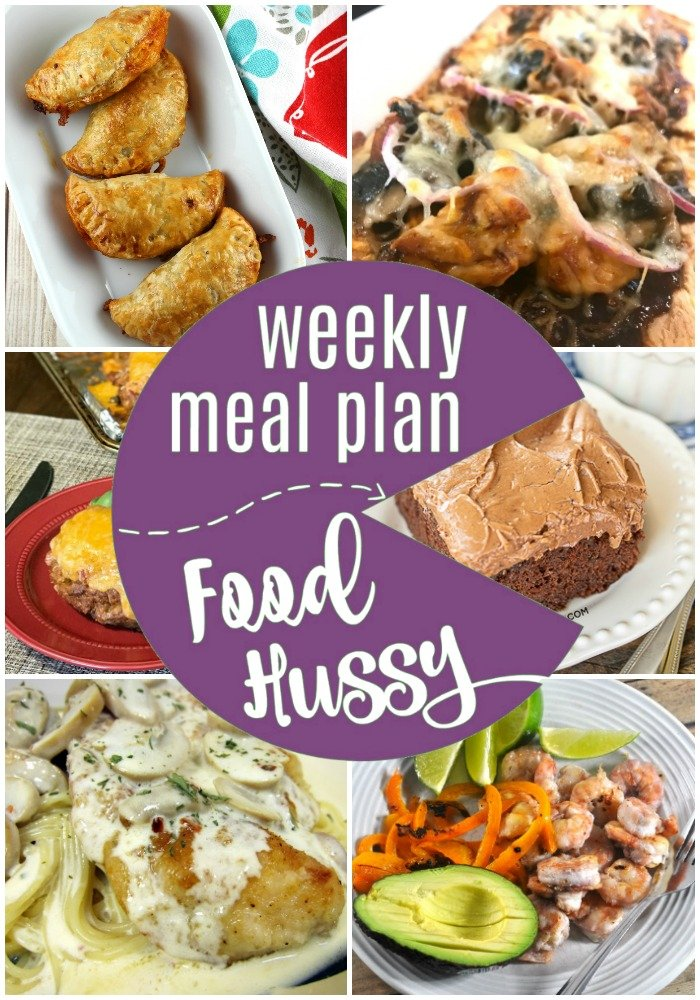 Weekly Meal Plan featuring copycat carrabbas and christmas eve turkey