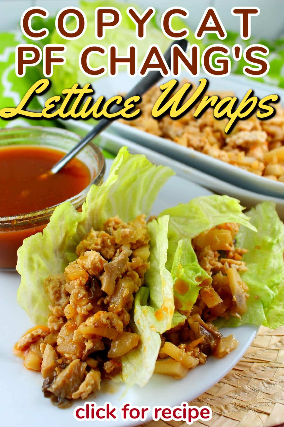 I love the Lettuce Wraps at PF Chang's and had them over the holidays – then I got home and wanted them again!!! So I made my own! They're pretty simple and make a great main dish too! via @foodhussy
