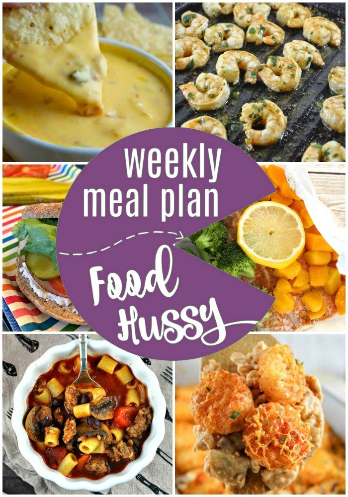 Weekly Meal Plan full of healthy recipes including some weight watchers WW recipes!
