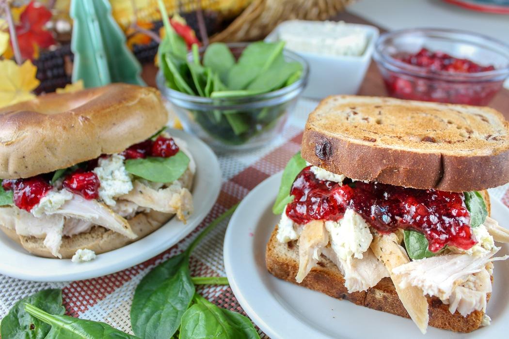 Copycat Thanksgiving Leftover Sandwich