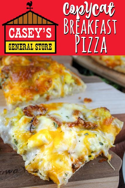 Casey's Breakfast Pizza is an Iowa staple. This Copycat recipe is dead-on!!! I make it all the time - it brings me a taste of home.  via @foodhussy