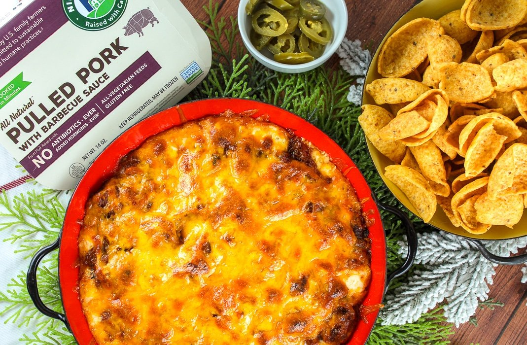 Hot & Cheesy BBQ Pulled Pork Dip