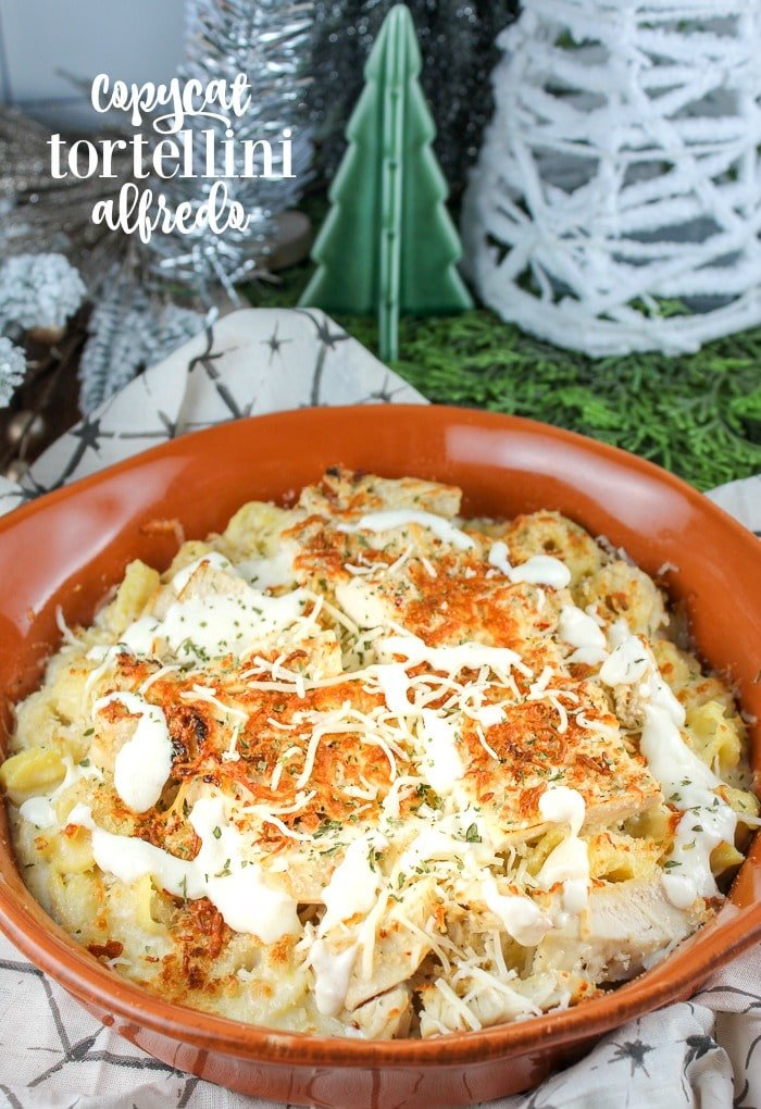 Olive Garden has done it again! They introduced their new Oven Baked Pastas and I had to make one! I chose the Tortellini Alfredo with Grilled Chicken. I even found the actual OG alfredo recipe and it's spot on! This recipe is so delicious and comforting! It's perfect for a chilly winter night! via @foodhussy