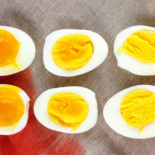 Air Fryer boiled eggs (hard boiled and soft boiled)