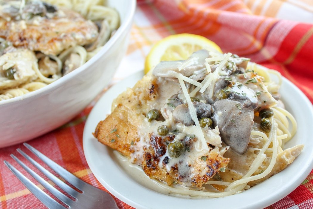 Copycat Cheesecake Factory Chicken Piccata