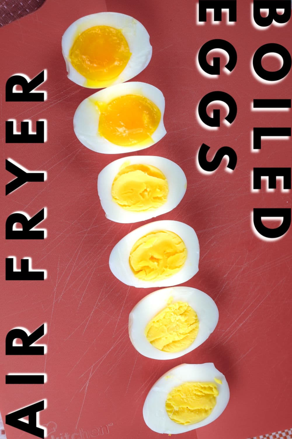 Whether you like your eggs soft-boiled, medium-boiled or hard-boiled – I have got you covered. After using your air fryer for boiled eggs – you'll never boil water again!  via @foodhussy