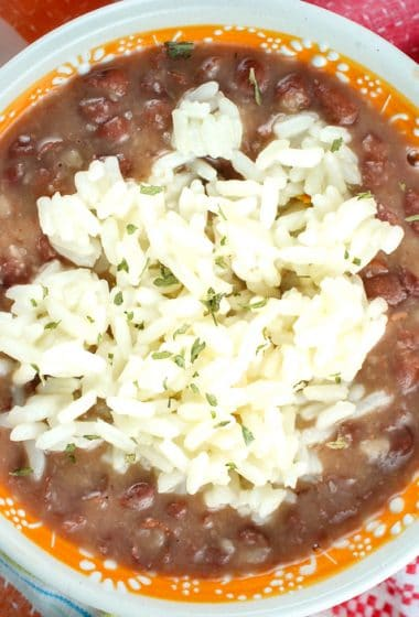 Copycat Popeye's Red Beans & Rice