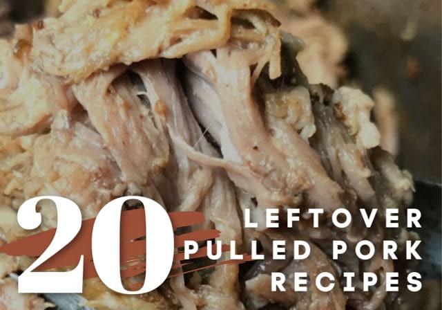 20 leftover pulled pork recipes