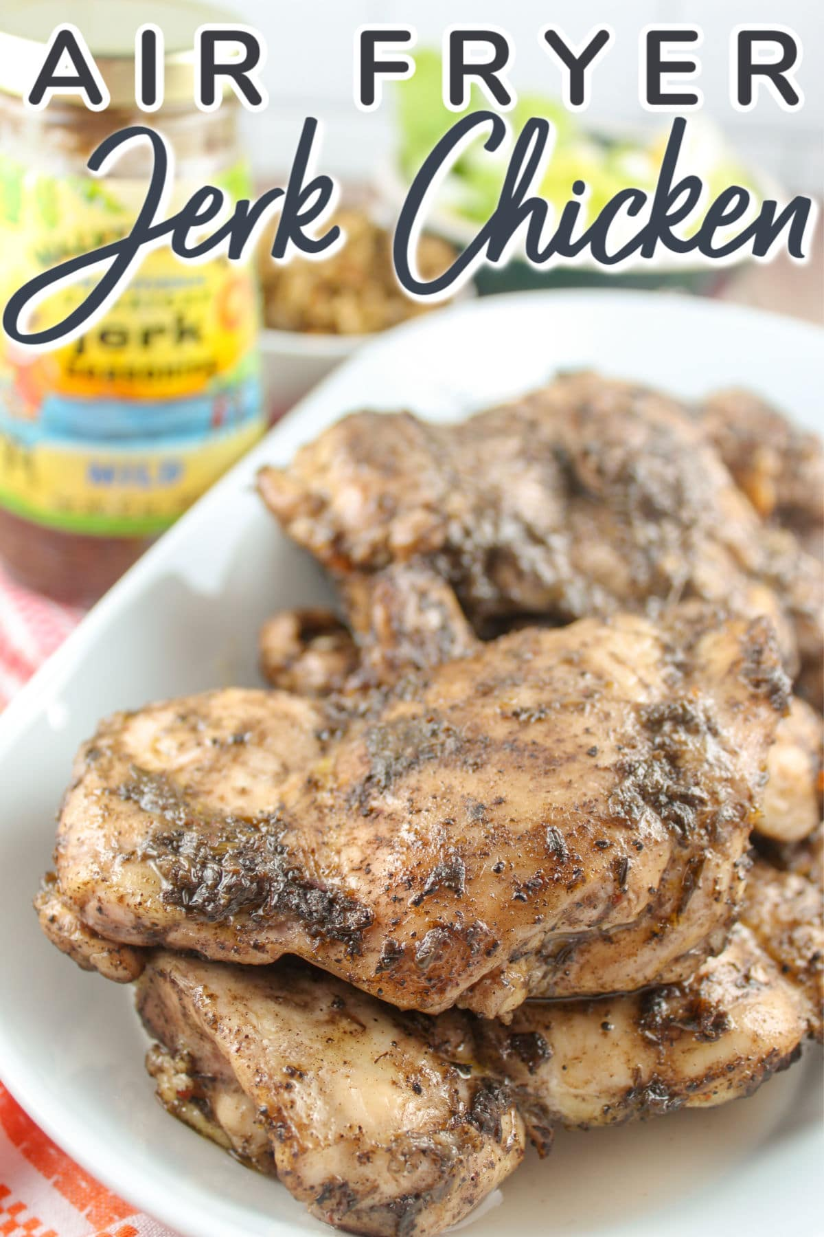 After visiting the Caribbean, I fell in love with Jerk Chicken! This spicy, juicy burst of flavor was sooo good - I had to make it myself!