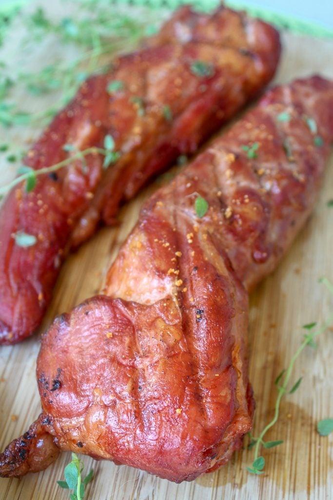smoked pork tenderloin