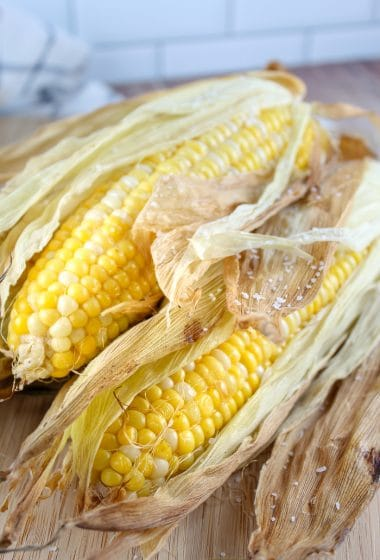 Traeger Grilled Corn on the Cob