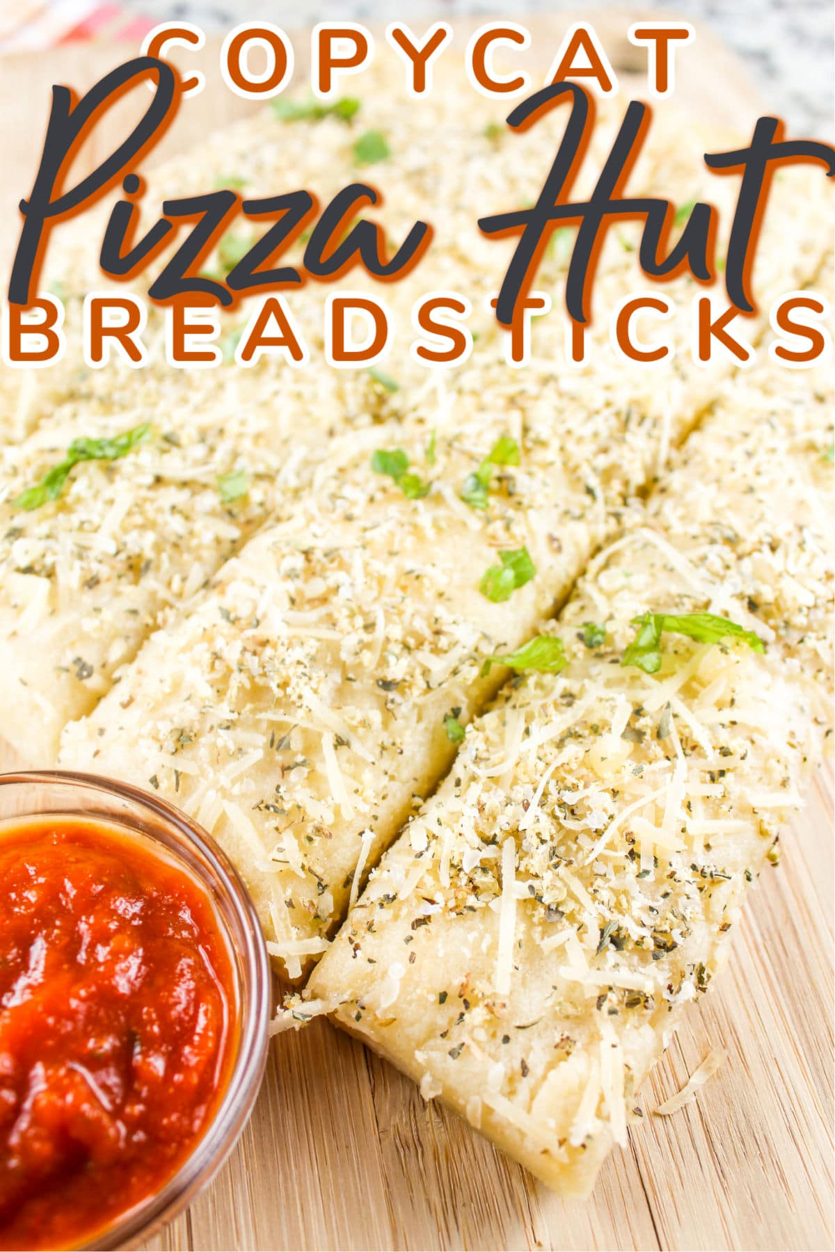 Pizza Hut Breadsticks were one of my favorite appetizers growing up! I finally recreated them in my own kitchen - so delicious - just like I remembered them!
