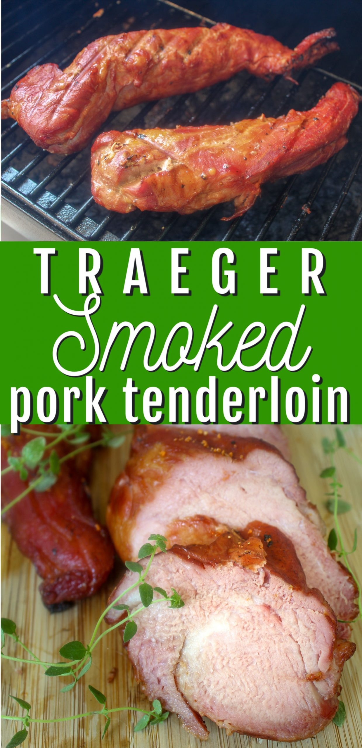 Pork Tenderloin is so delicious - pretty much anyway you make it - but Smoked Pork Tenderloin just got even better! Incredibly juicy with a smokey goodness - you'll love it!  via @foodhussy