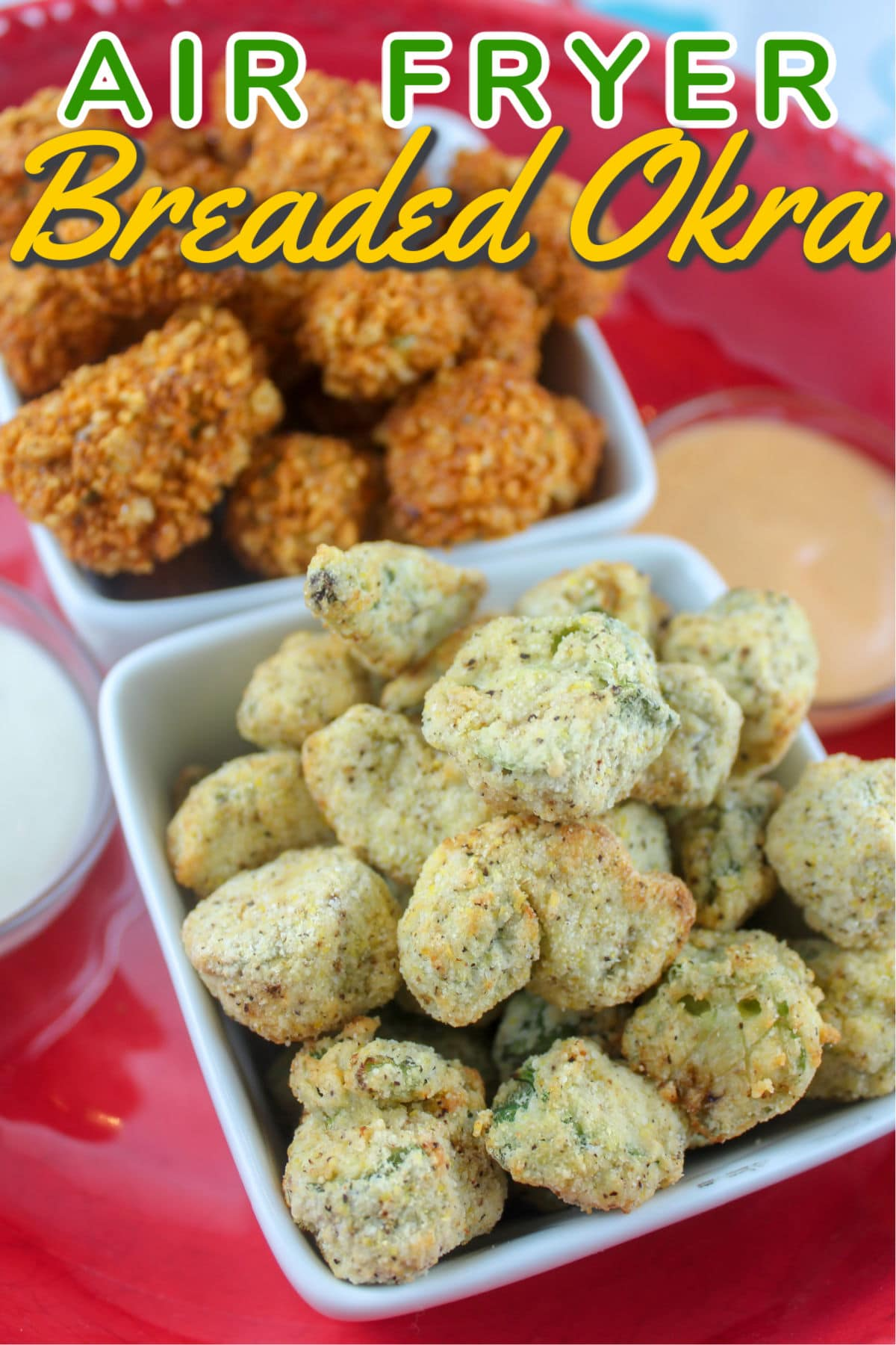 Breaded okra is totally a staple in the south - but us northern folk still know how to fix it! I love making okra in the air fryer! Crunchy little nuggets of goodness! Last week, I was at the farmers market and found a bunch and decided I would make it for myself!  via @foodhussy