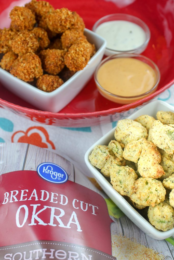 Air Fryer Breaded Okra