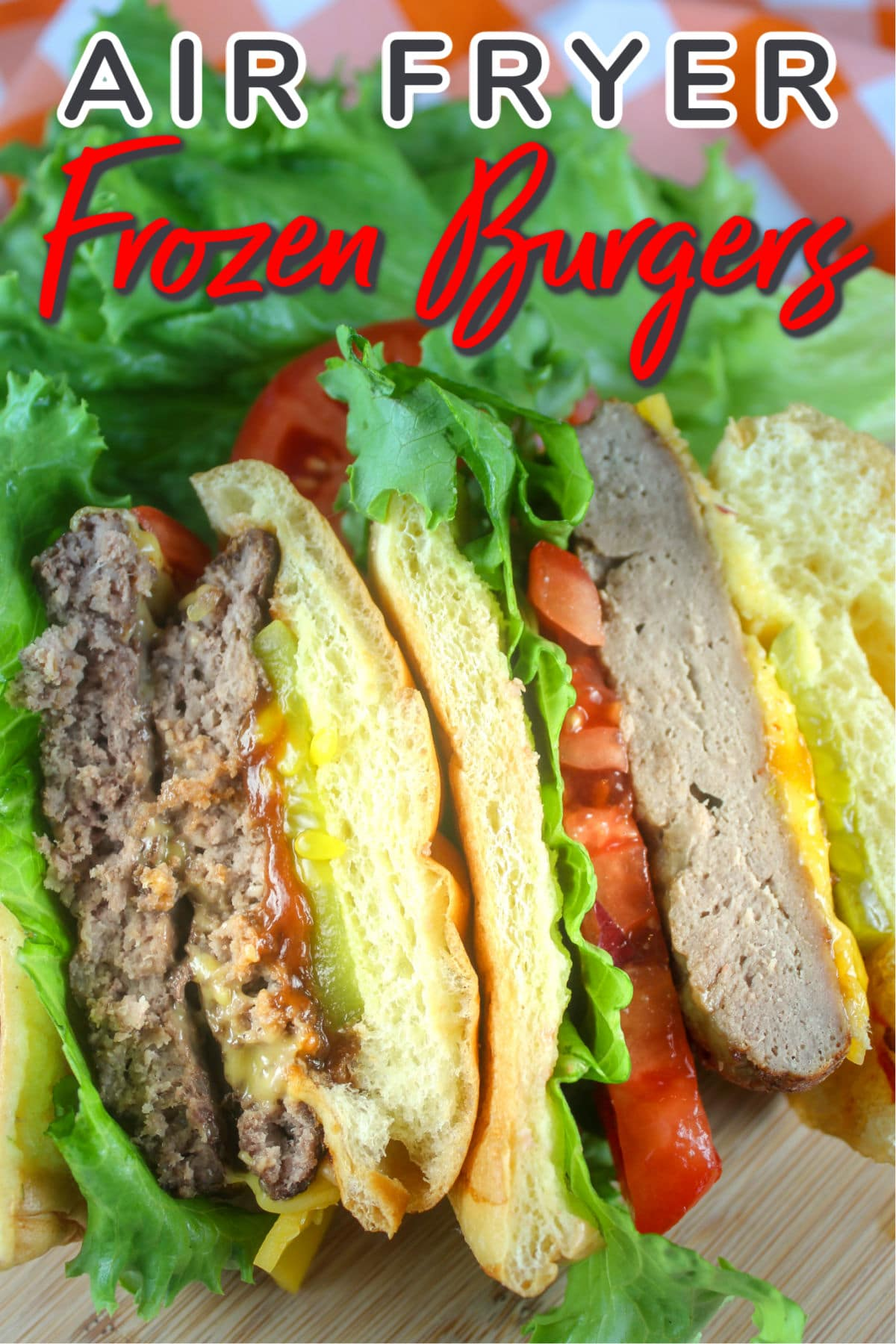 Dinner just got easier - making frozen hamburgers in your air fryer means burgers in 15 minutes with no work! Freezer to table in no time! via @foodhussy