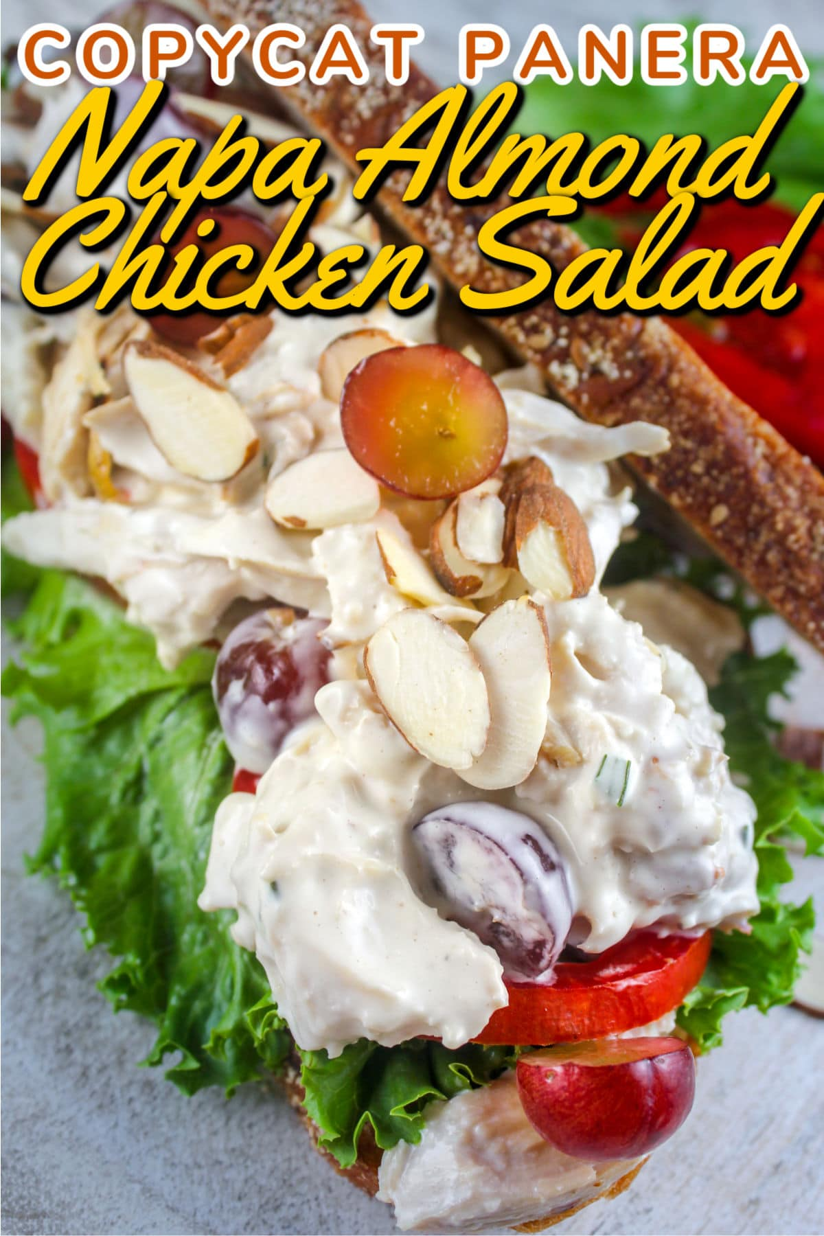I was shocked at how much I loved Panera's Napa Almond Chicken Salad! I always thought I was a chicken salad traditionalist - but this chicken salad is delicious! I made it for myself and think it's spot-on!  via @foodhussy