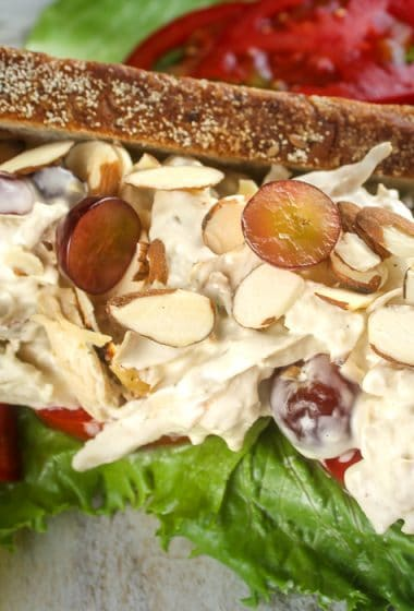 Copycat Panera Napa Almond Chicken Salad