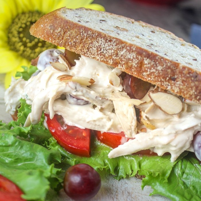 Copycat Panera Napa Almond Chicken Salad