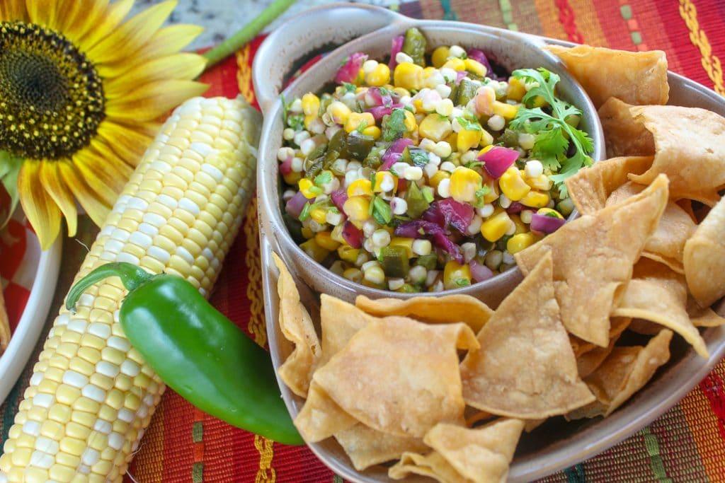 Copycat Chipotle Corn Salsa