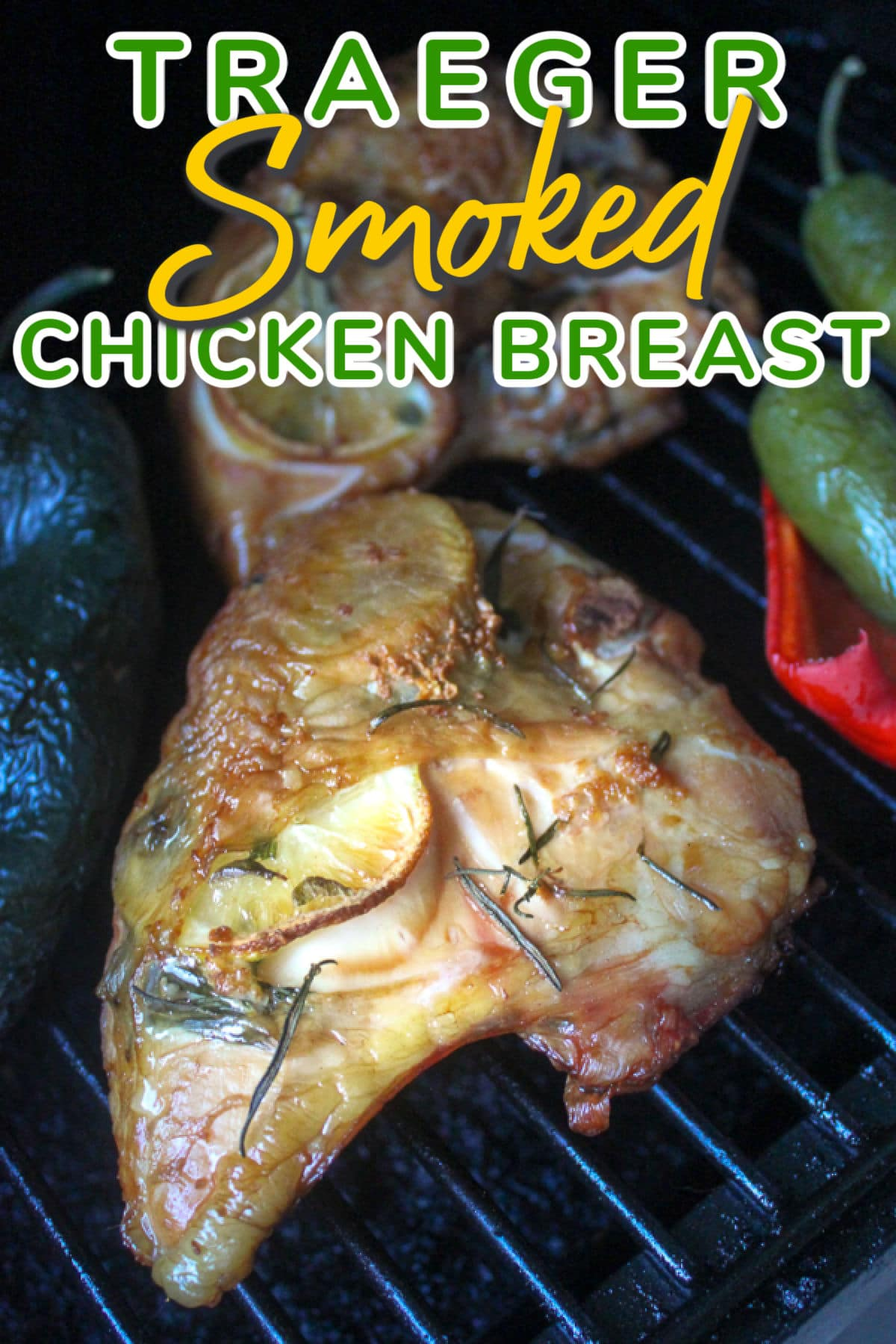 Chicken breast can be tricky when you grill or smoke it - it can dry out easily. BUT I've got you covered!!!! This smoked chicken breast was juicy and delicious with that smokey flavor that only comes from those yummy Traeger wood pellets!  via @foodhussy