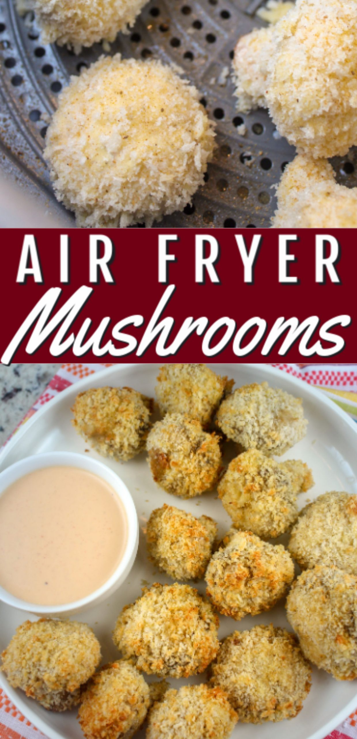 Breaded mushrooms are one of my favorite restaurant appetizers that I've never made at home - until now!!!! With the air fryer - there's no mess of oil - and they're crispy and just as delicious. These air fryer breaded mushrooms will hit the SPOT for you any night!  via @foodhussy