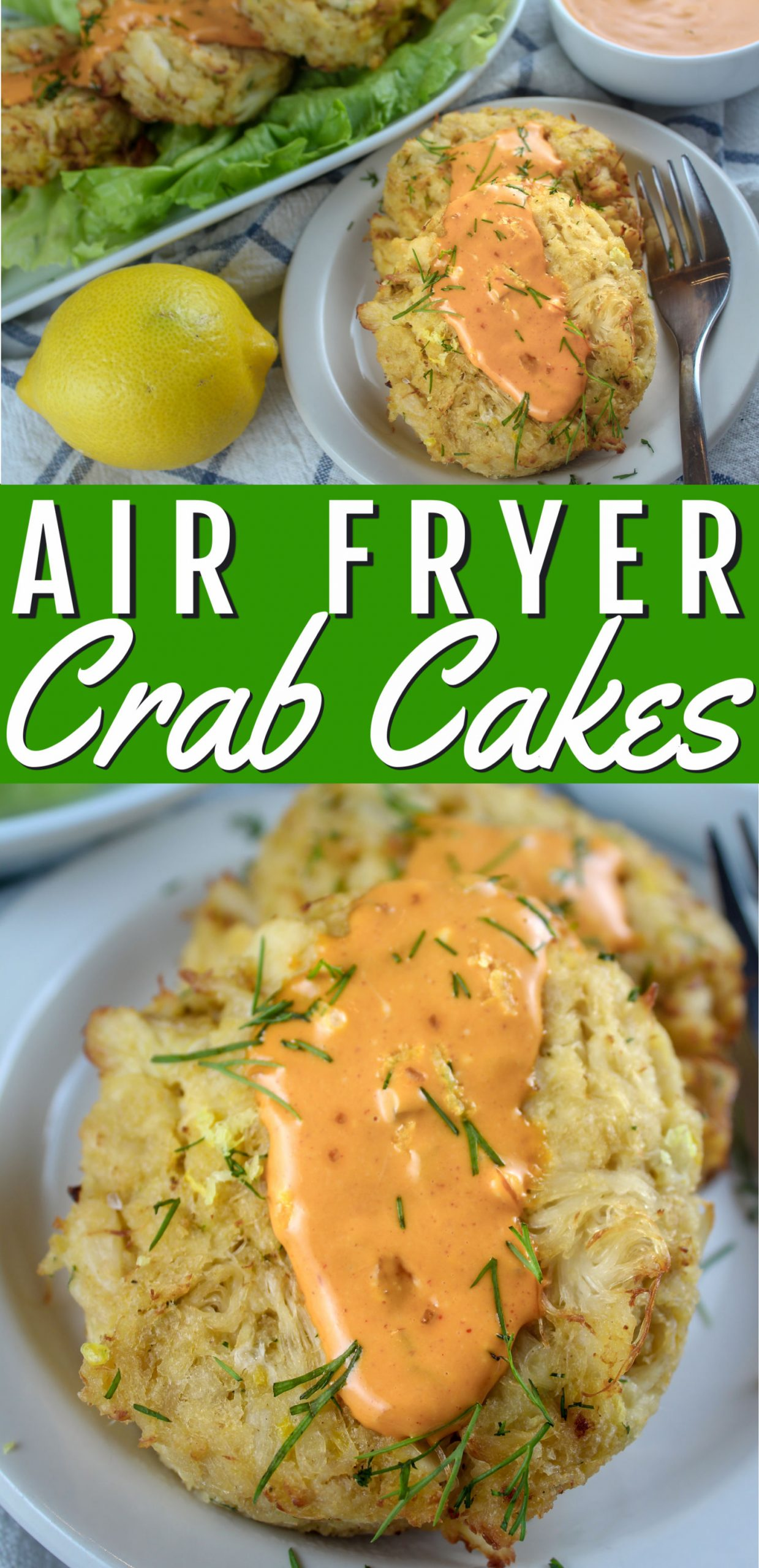 I'm OBSESSED with crab cakes!!! These air fryer crab cakes are so crabby and delicious - you'll never want them in a restaurant again! Plus - they're fast and easy to make! via @foodhussy