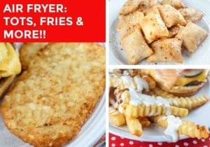 Air Fryer Fries, Hashbrowns and MORE