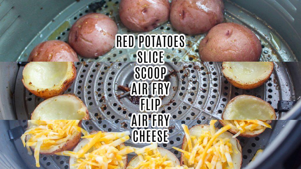 Air Fryer Potato Skins
