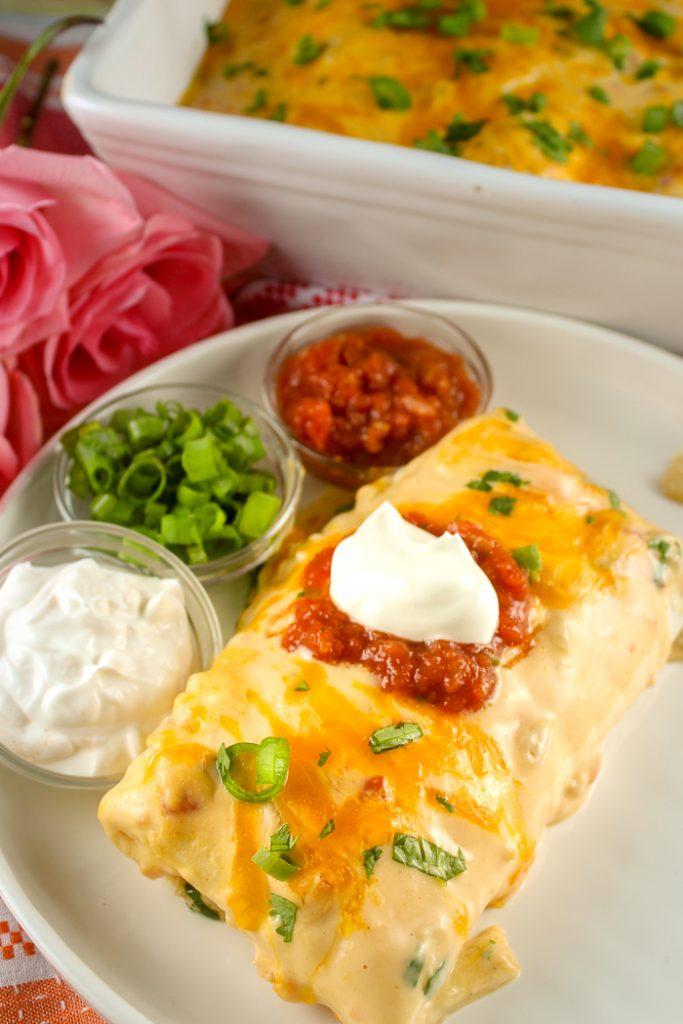 Copycat Carlos O'Kelly's Enchilada de Monterrey
