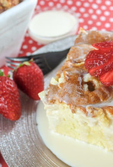 Copycat Chuy's Tres Leches Cake