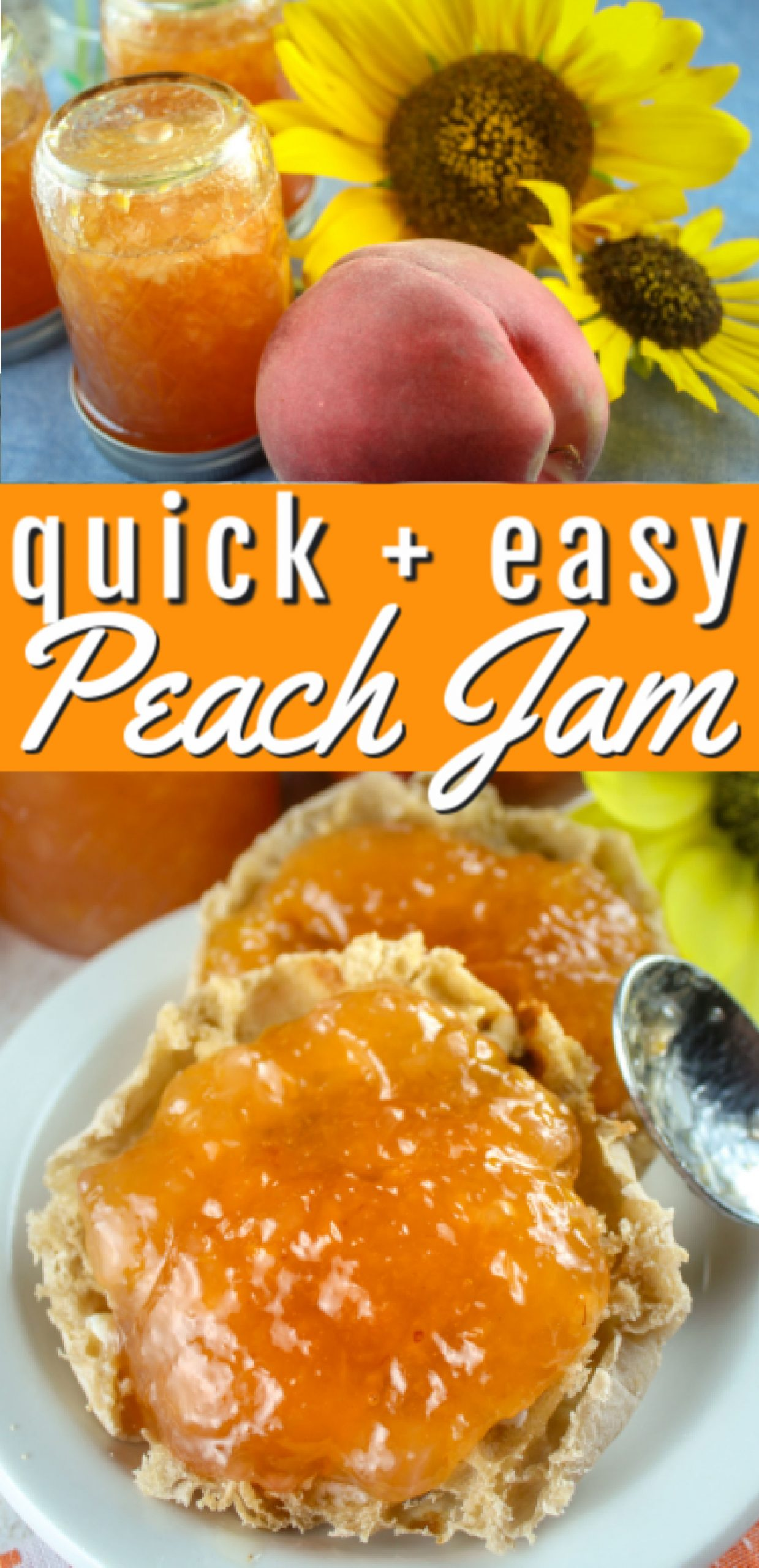 Summer fruit season is my favorite - with so many delicious options! I got a bunch of peaches recently and decided to make some peach jam - from scratch! I'll tell you - it's so good - I've eaten two jars of it already.  via @foodhussy
