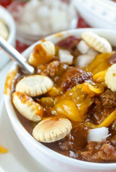 Copycat Steak 'n Shake Chili