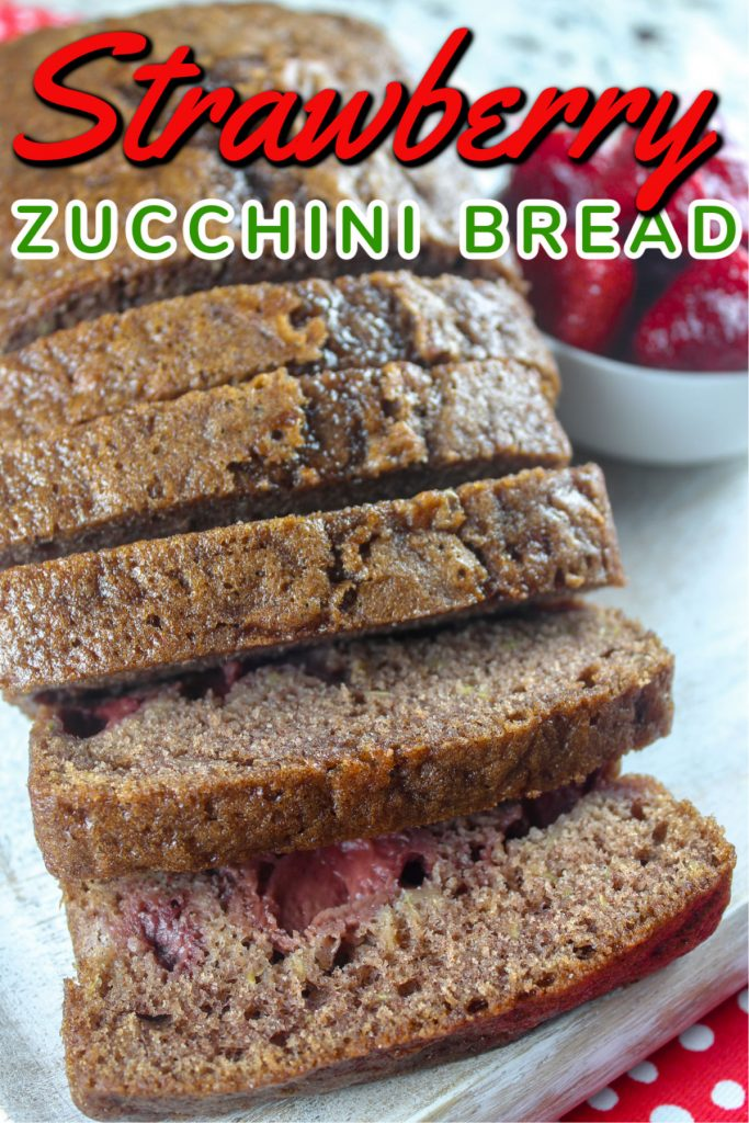 Strawberry Zucchini Bread