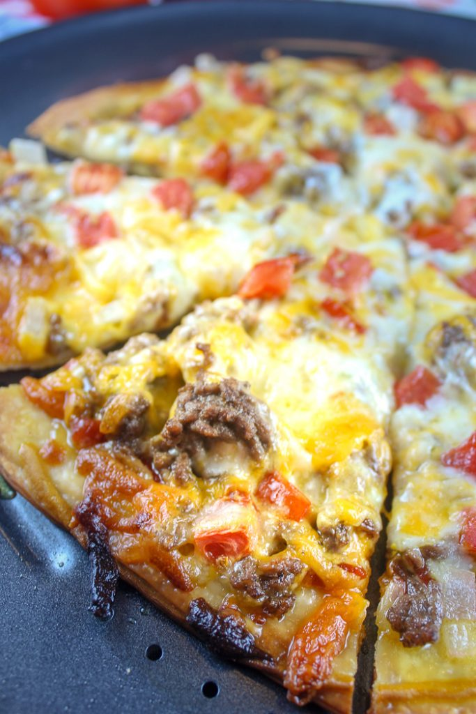 Copycat Dominos Cheeseburger Pizza