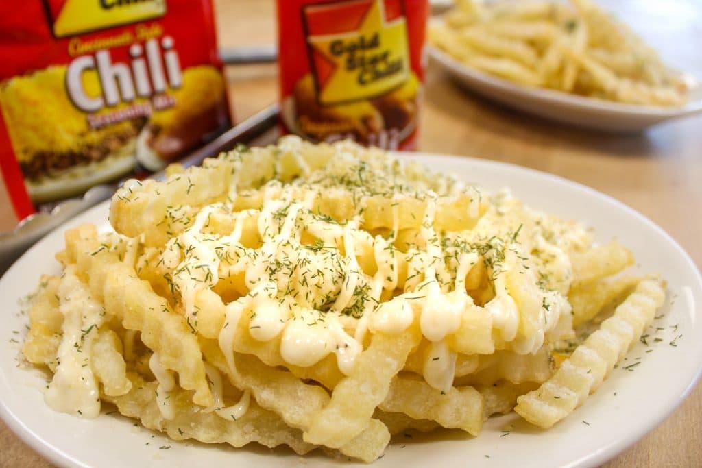 Copycat Garlic Parmesan Fries