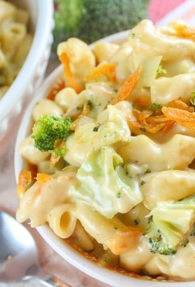 Panera Broccoli Cheddar Mac & Cheese