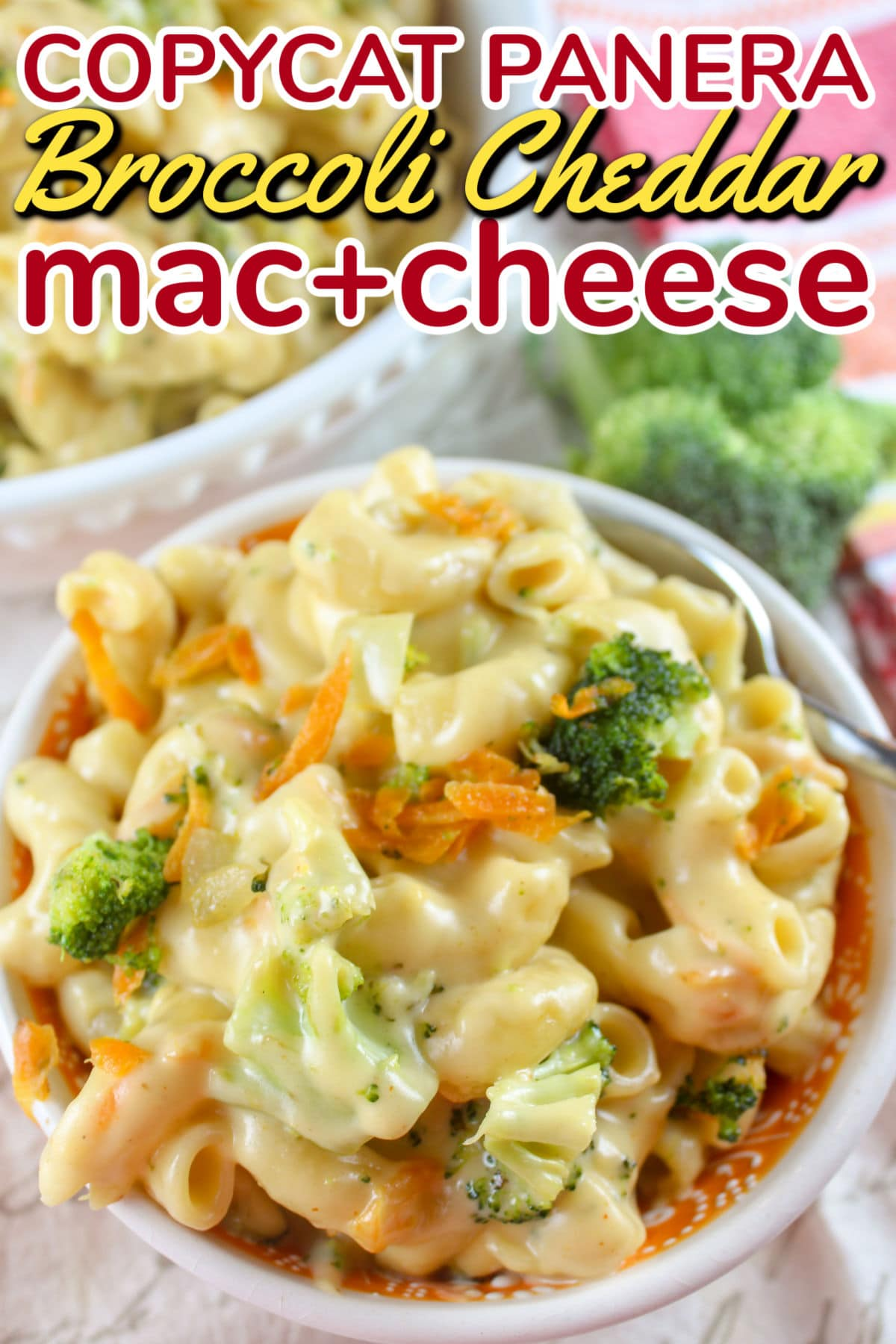 This copycat recipe of Panera's new Broccoli Cheddar Mac and Cheese is spot on perfection! They took their two fan favorites: mac & cheese and broccoli cheddar soup and mixed them together to make magic!  via @foodhussy