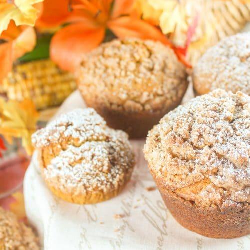 Copycat Panera Pumpkin Muffin