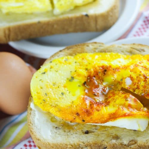 Air Fryer Fried Egg