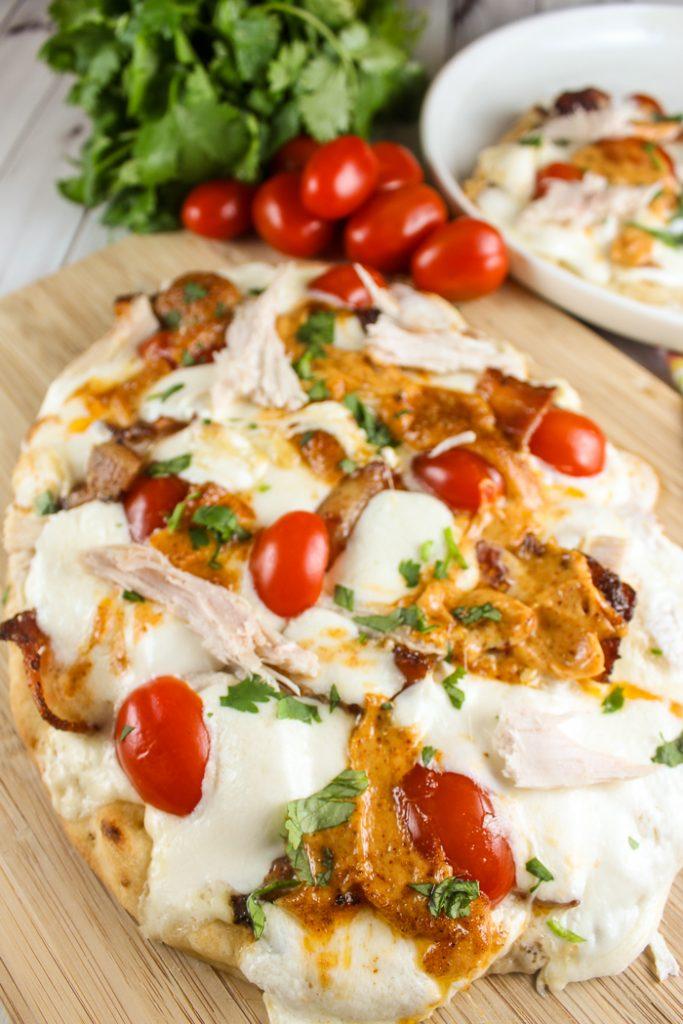 Copycat Panera Chipotle Chicken & Bacon Flatbread Pizza