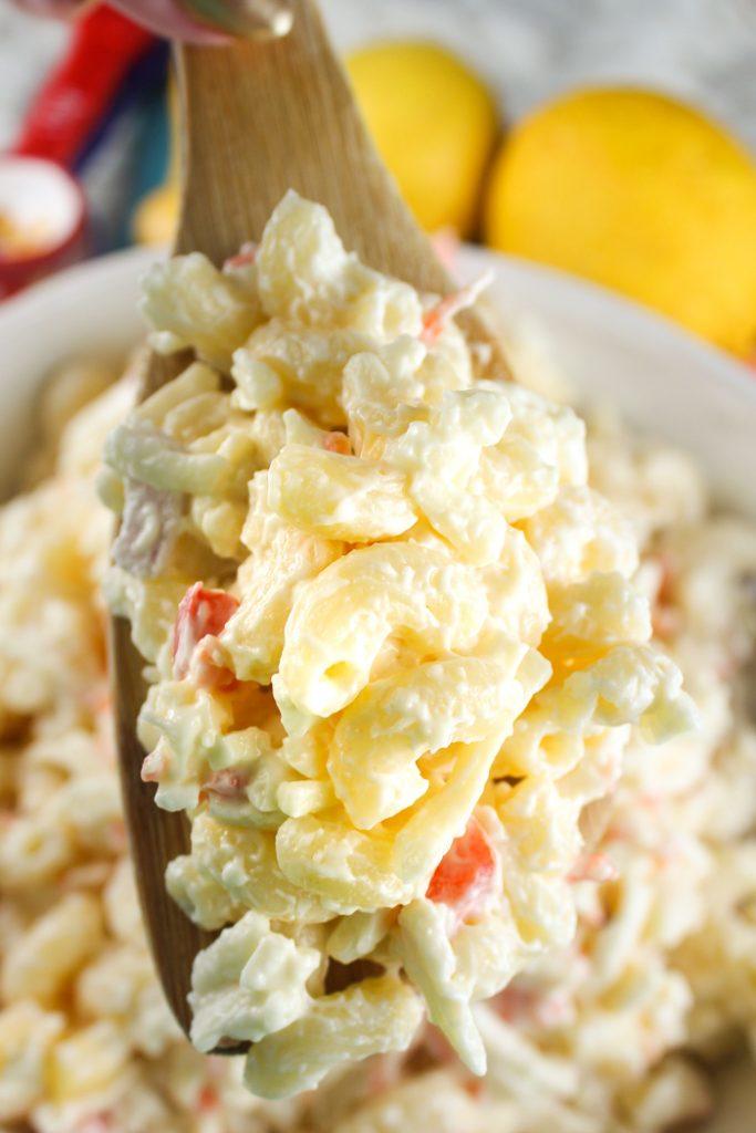 Jarlsberg Dip Macaroni Salad