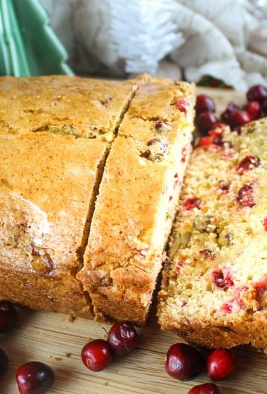 Ocean Spray Cranberry Bread