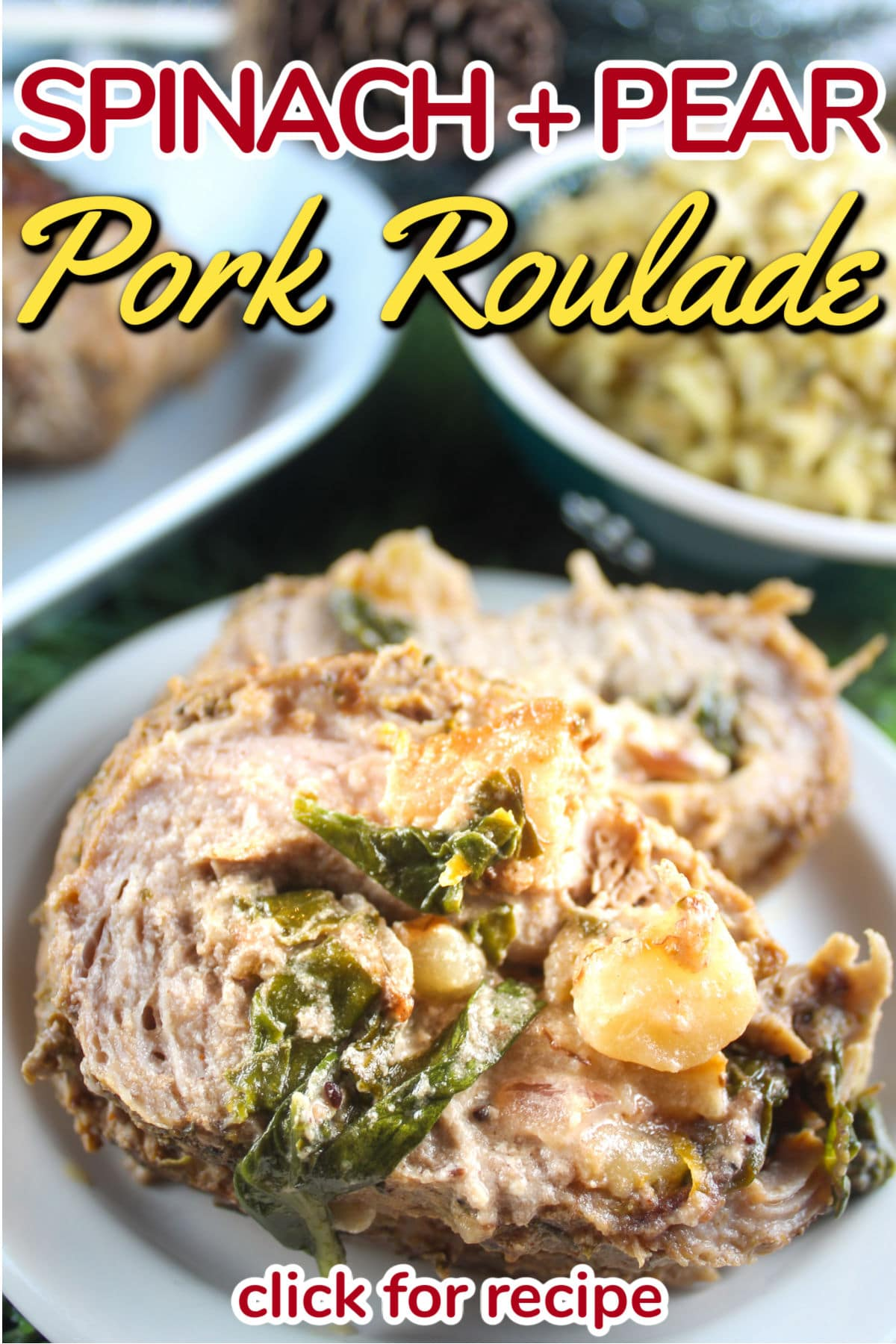 Pork Roulade sounds super fancy but it's actually super easy to make! Grab a pork tenderloin and let's get to stuffing it! This is the perfect dinner to impress any friends and family.  via @foodhussy