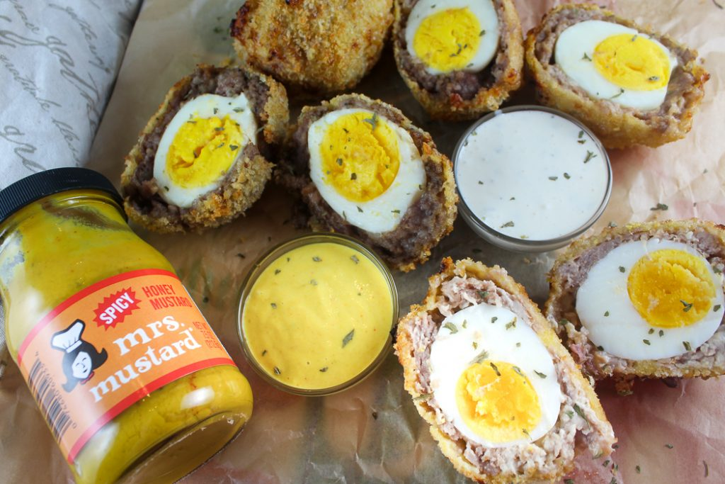 Air Fryer Scotch Eggs