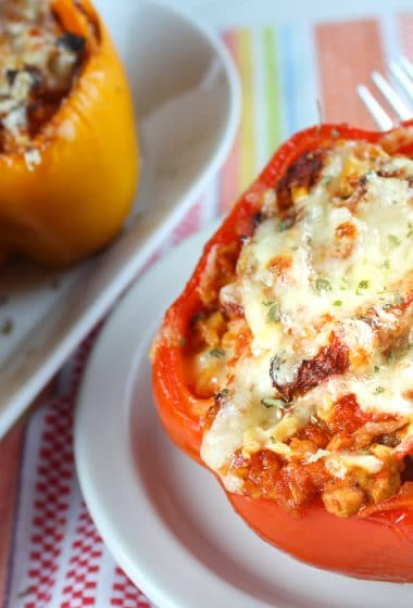 Air Fryer Stuffed Peppers Weight Watchers