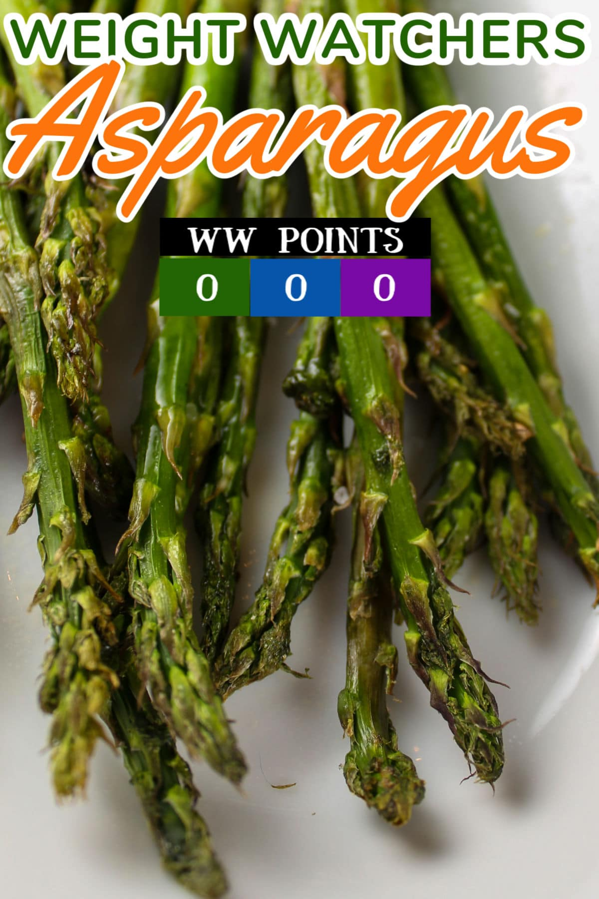 Air Fryer Asparagus is one of my favorite side dishes! You don't need anything but the vegetable and your air fryer - delicious every time! And it only takes a few minutes!  via @foodhussy
