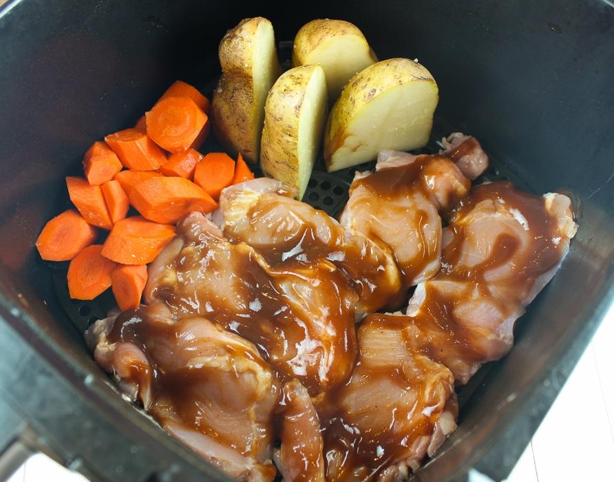 Air Fryer BBQ Chicken