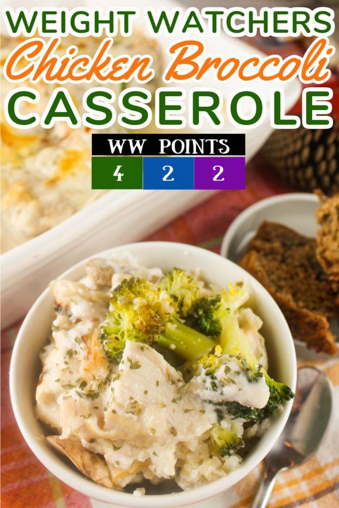 Weight Watchers Chicken Broccoli Casserole